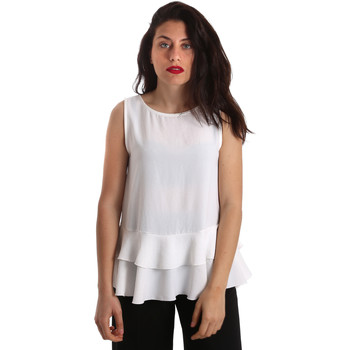 vaatteet Naiset Topit / Puserot Gaudi 911FD45048 Valkoinen