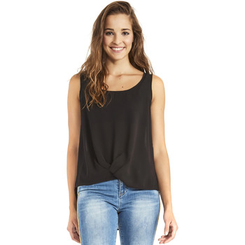 vaatteet Naiset Topit / Puserot Gaudi 911BD45001 Musta