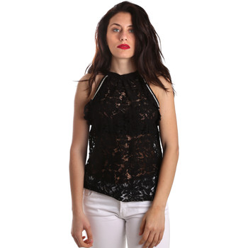 vaatteet Naiset Topit / Puserot Gaudi 911BD45026 Musta