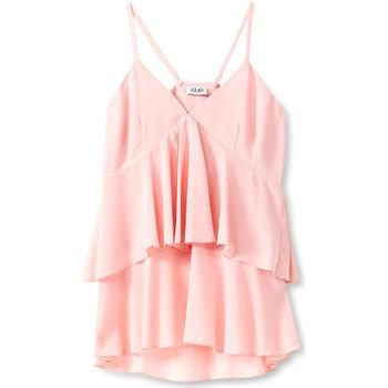 vaatteet Naiset Topit / Puserot Liu Jo F19006T5540 Vaaleanpunainen