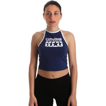 vaatteet Naiset Topit / Puserot Converse 10017592-A03 Sininen