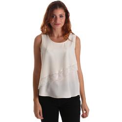 vaatteet Naiset Topit / Puserot Liu Jo W69236 T8552 Valkoinen
