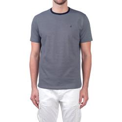 vaatteet Miehet Lyhythihainen t-paita Navigare NV70031 Sininen