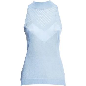 vaatteet Naiset Topit / Puserot Fracomina FR20SM812 Sininen
