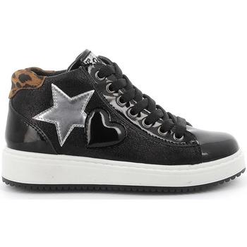 kengät Lapset Korkeavartiset tennarit Primigi 6378922 Musta