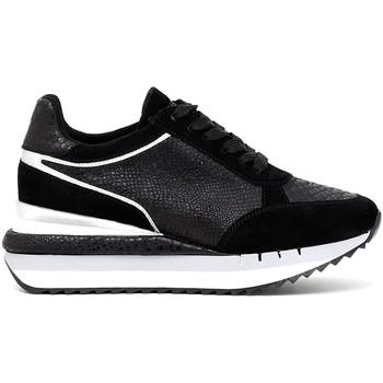 kengät Naiset Matalavartiset tennarit Café Noir DN626 Musta