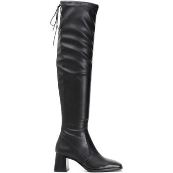 kengät Naiset Ylipolvensaappaat Café Noir LD914 Musta