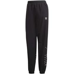 vaatteet Naiset Verryttelyhousut adidas Originals GD2417 Musta