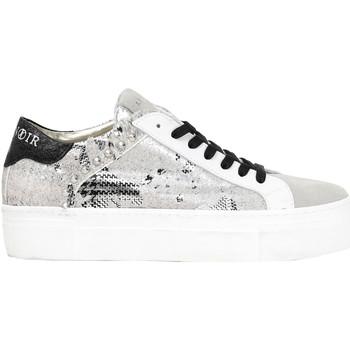 kengät Naiset Matalavartiset tennarit Café Noir DF822 Valkoinen