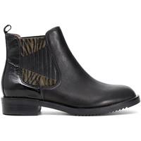 kengät Naiset Bootsit Café Noir EB462 Musta