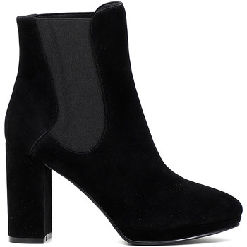 kengät Naiset Nilkkurit Café Noir MD541 Musta