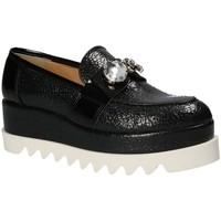 kengät Naiset Mokkasiinit Grace Shoes 1312 Musta
