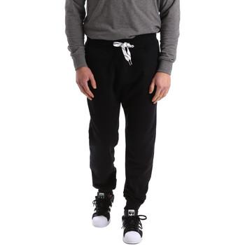 vaatteet Miehet Verryttelyhousut Key Up 2F37I 0001 Musta