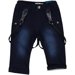 vaatteet Tytöt Slim-farkut Melby 20F0220 Sininen