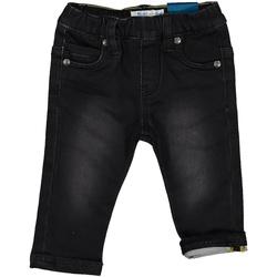 vaatteet Lapset Slim-farkut Melby 20F2210 Musta