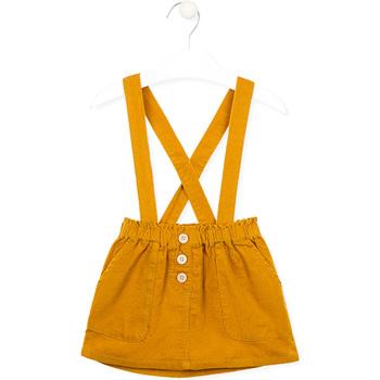 vaatteet Tytöt Hame Losan 026-7027AL Keltainen
