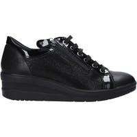 kengät Naiset Matalavartiset tennarit Enval 6277800 Musta