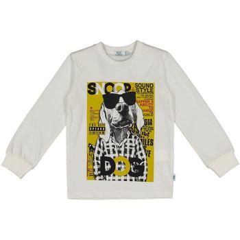 vaatteet Lapset Svetari Melby 40C0062 Valkoinen