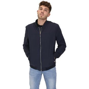 vaatteet Miehet Pusakka Les Copains 9UB081 Sininen