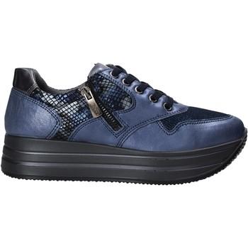 kengät Naiset Matalavartiset tennarit IgI&CO 6166211 Sininen