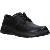 kengät Miehet Derby-kengät Enval 6209300 Musta