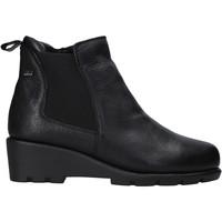 kengät Naiset Bootsit Valleverde 36184 Musta