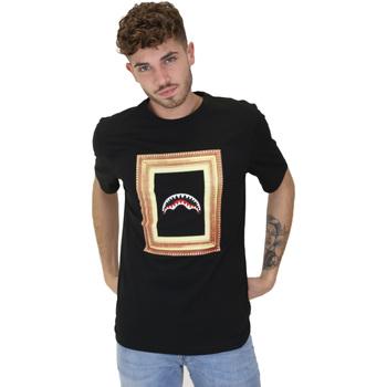 vaatteet Miehet Lyhythihainen t-paita Sprayground 21SFW005 Musta