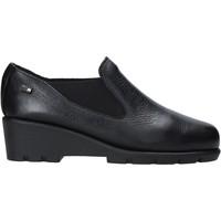 kengät Naiset Mokkasiinit Valleverde 36180 Musta
