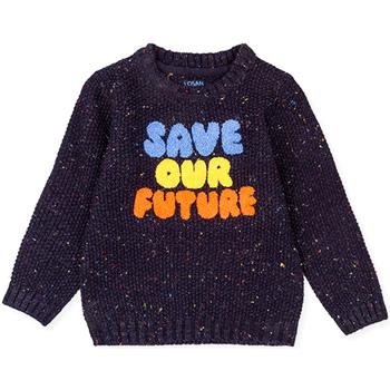 vaatteet Lapset Neulepusero Losan 025-5001AL Sininen