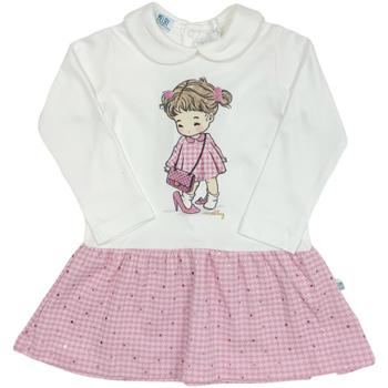 vaatteet Tytöt Lyhyt mekko Melby 20A0011 Valkoinen