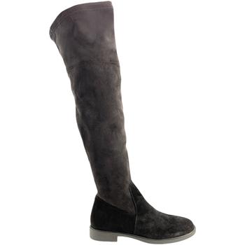 kengät Naiset Ylipolvensaappaat Grunland ST0464 Musta