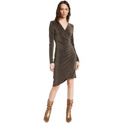 vaatteet Naiset Lyhyt mekko Gaudi 021FD14003 Kulta