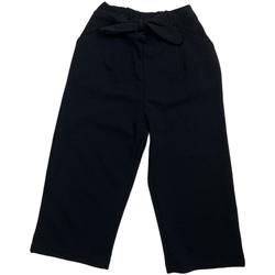 vaatteet Tytöt Chino-housut / Porkkanahousut Losan 026-6793AL Musta