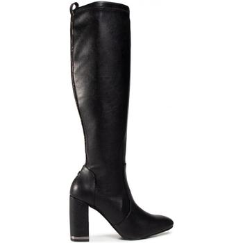 kengät Naiset Ylipolvensaappaat Guess FL8DRL ELE11 Musta