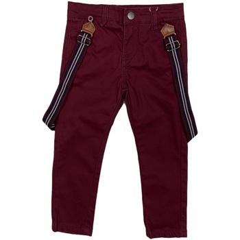 vaatteet Lapset Chino-housut / Porkkanahousut Losan 025-9790AL Punainen