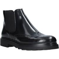 kengät Miehet Bootsit Exton 607 Musta