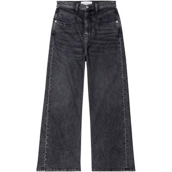 vaatteet Naiset Bootcut-farkut Calvin Klein Jeans J20J214004 Musta