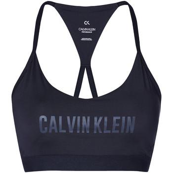 vaatteet Naiset Urheiluliivit Calvin Klein Jeans 00GWT0K117 Musta