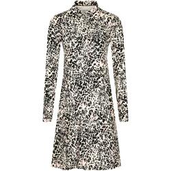 vaatteet Naiset Lyhyt mekko Calvin Klein Jeans K20K202417 Valkoinen