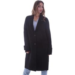 vaatteet Naiset Paksu takki Calvin Klein Jeans K20K202323 Musta