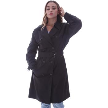 vaatteet Naiset Trenssitakki Calvin Klein Jeans K20K202048 Musta