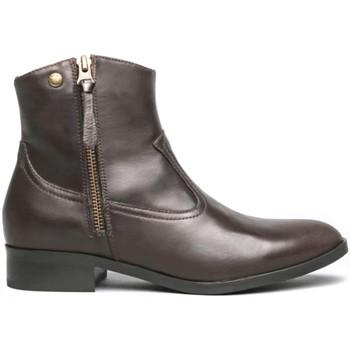 kengät Naiset Bootsit NeroGiardini I013060D Ruskea