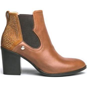kengät Naiset Bootsit NeroGiardini I013071D Ruskea