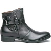 kengät Naiset Bootsit NeroGiardini I013101D Musta