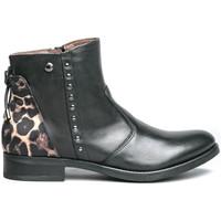 kengät Naiset Bootsit NeroGiardini I013103D Musta