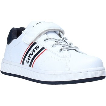 kengät Lapset Matalavartiset tennarit Levi's VADS0040S Valkoinen
