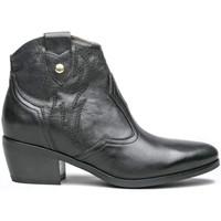 kengät Naiset Bootsit NeroGiardini I013111D Musta