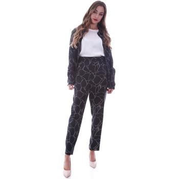 vaatteet Naiset Chino-housut / Porkkanahousut Calvin Klein Jeans K20K202125 Musta