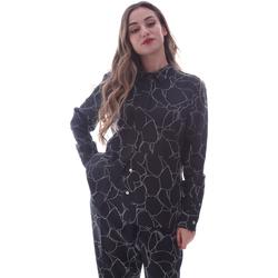 vaatteet Naiset Paitapusero / Kauluspaita Calvin Klein Jeans K20K202231 Musta