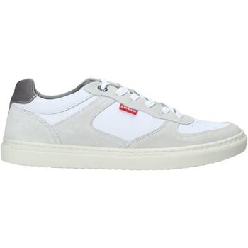 kengät Miehet Matalavartiset tennarit Levi's 225797 808 Valkoinen